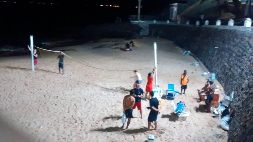 alunos praia11
